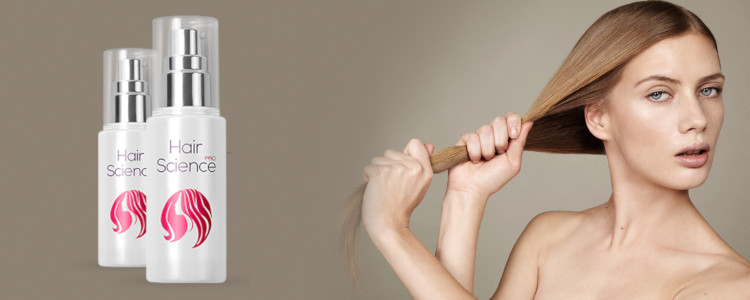 Hair Science - ingrédients naturels, pas d'effets secondaires